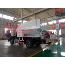 Customized for Special-Purpose Vehicle Sinotruk 6T Site mixed granular ANFO Explosive Truck supply to Nauru Factories
