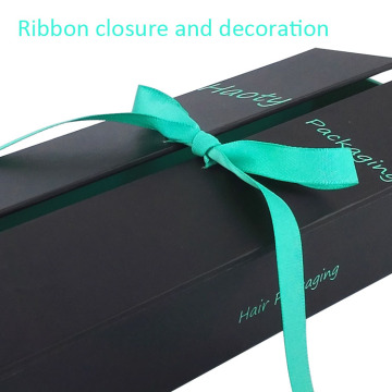 High quality hair extention packaging box