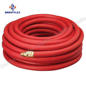 Soft rubber hose pipe for air water