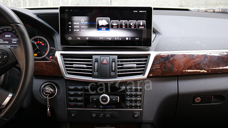 carsara android infotainment system for mercedes benz e. Black Bedroom Furniture Sets. Home Design Ideas