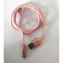 China supplier OEM for Red Apple Lightning Charger lightning charging cable for iphone and ipod export to Italy Wholesale
