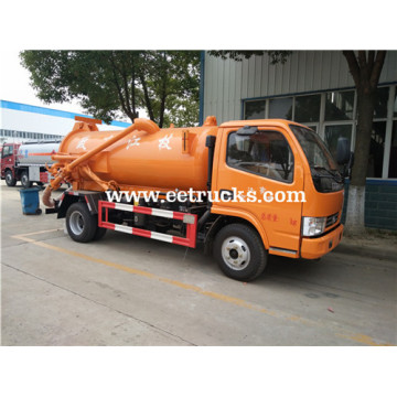 5 CBM Sewage & Fecal Suction Trucks