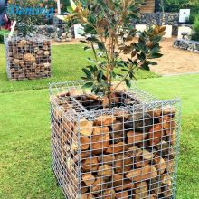 Rust Proof Retaining Zinc Coated Stone Gabion Box