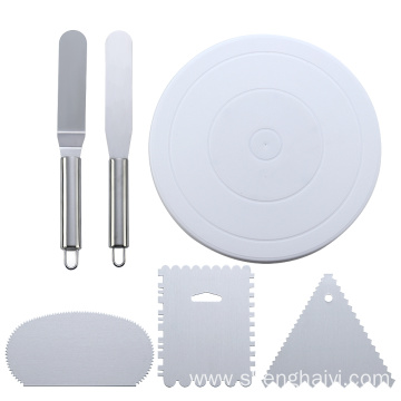 6 pcs cake decorating kit set