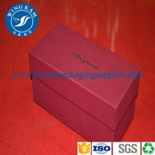 Red Luxury Paper Packaging Box