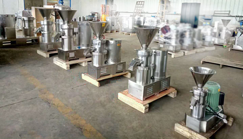 Sesame Seed Paste Grinding Making Machine