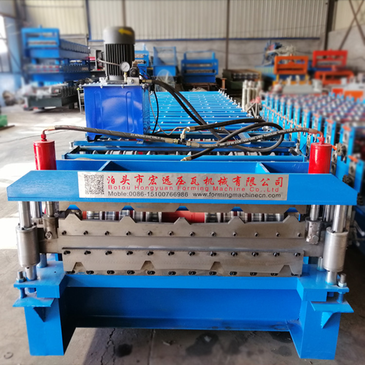 Double Layer Tile Machine