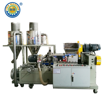 Rubber Particles Making and Cooling Machine