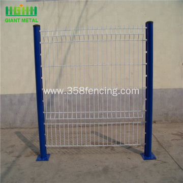 Curvy Bend Welded Wire Mesh Fence