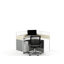 Leading Manufacturer for for Office Cubicle Workstation Aluminum office table partition workstation supply to Brunei Darussalam Wholesale
