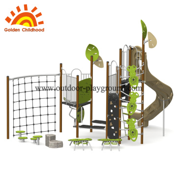 Fantastic outdoor playground facility equipment
