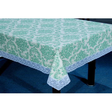 Plastic Tablecloths Lace Edge 140 x 180cm