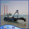 Marine cutter dredger ladder design