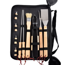 bbq tools set with made of stainless steel