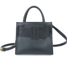 Square buckle belt decorated handbag shoulder bag