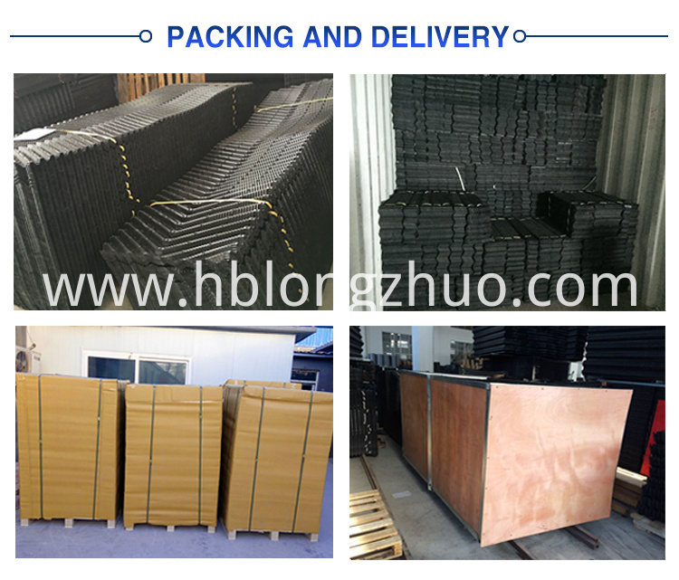 Packing of cooling tower fill