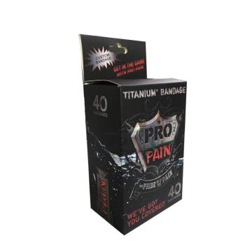 Custom Colorful Paper Box for Titanium Bandage