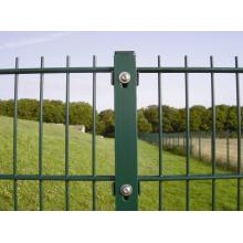 Direct factory sales welded double wire mesh fence