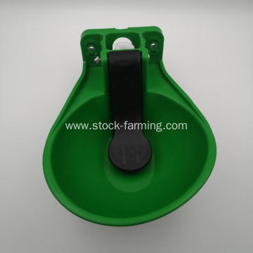 Automatic plastic cow cattle drinker for animal drinker