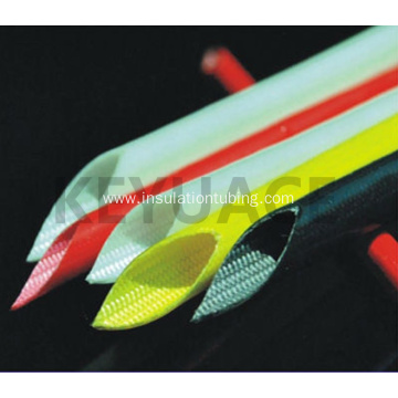 Silicone Rubber Expandable Fiber Glass Braided Sleeving