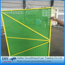 safety net fence for perforated metal mesh