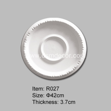 Small Bead Polyurethane Ceiling Rose