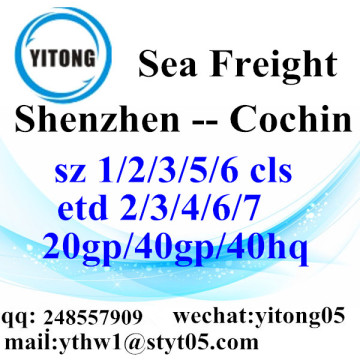 Shenzhen Shipping Services to Cochin