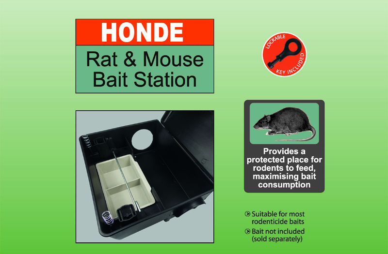 CMYK 4C rat bait station