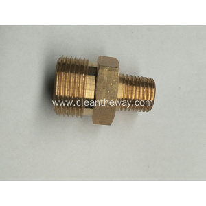 "Pressure Washer Twist Connect M22 X 3/8"" MNPT 4000PSI High Pressure Brass Fitting"
