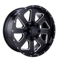 Aluminium Offroad Wheel Black Milled