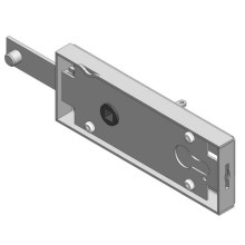 Up and over garage door Lock case