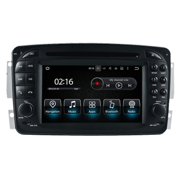 7inch HD Touch Screen Android System for Benz