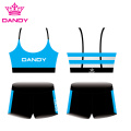 Oanpasbere strepen sublimeare cheer-outfits