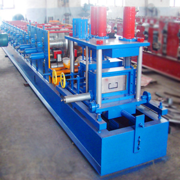 Steel sheet cz purlin making machine