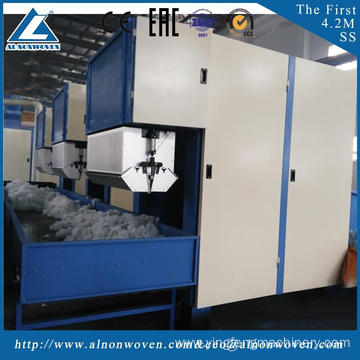 High quality ALKS1500 polyester fiber opening machine mahcine witdth 1.5m embedding materials for automobiles