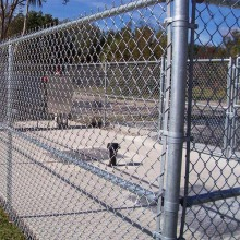 Chain Link Anti-Intruder Mesh Fence