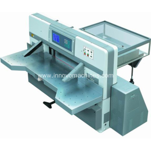 Innovo Microcomputer double worm double guide paper cutting machine