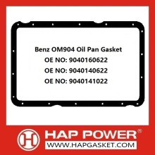 Online Exporter for Oil Pan Seal Gasket Benz OM904 Oil Pan Gasket 9040160622​ export to Djibouti Importers