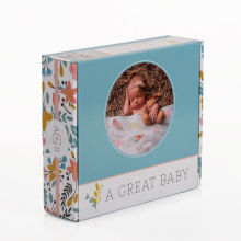 Custom Printed Logo Paper Packaging Baby Products Box