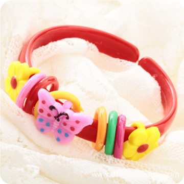 Cute Animal Shaped Children Cuff Plastic Bangles Wholesale
