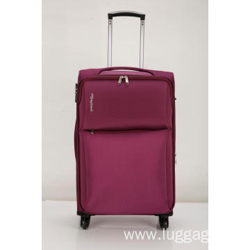 Softside Carry On Spinner suitcase