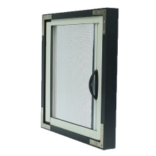 adjustable roller up fly screen for window