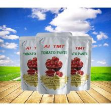 Reliable for 70g Pouch Tomato Paste tomato processors top sell tomatoes export to Ukraine Importers