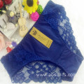 OEM wholesale new style underwear sapphire sexy comfortable lace cotton fancy panty 805