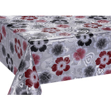 China for Double Face Printed Tablecloth Printed Silver Gold Emboss Tablecloth supply to Armenia Manufacturers