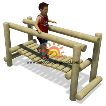 School Outdoor Wooden Playground Equipment For Kids