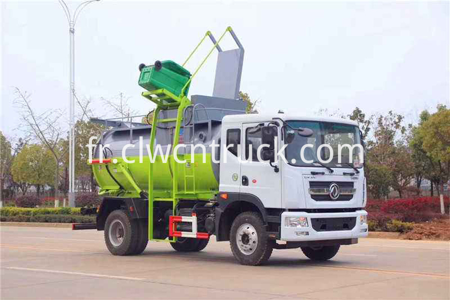 kitchen garbage collecting vehicle factory