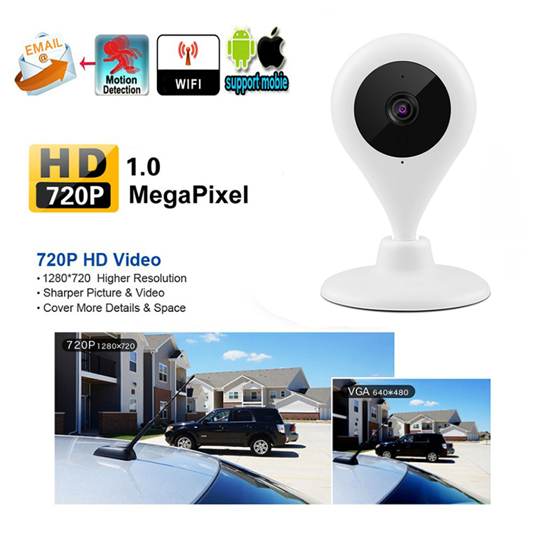1MP IP Wifi Camera