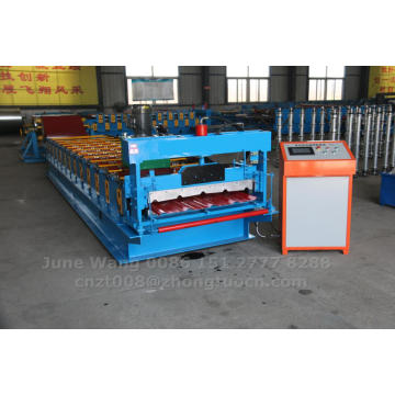 steel panel sheet rolling roll forming machine
