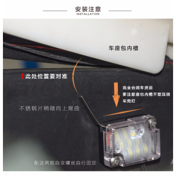 SPIRIT BEAST LED Block Barrel Lamp